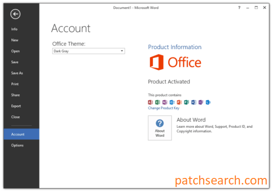 Microsoft Office 2013 Crack + Product Key Full Latest