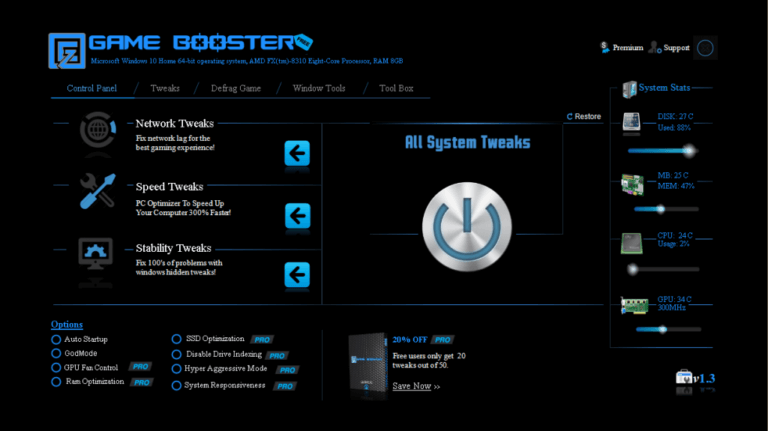 EZ Game Booster Pro 1.6.3 Plus Crack Full Latest