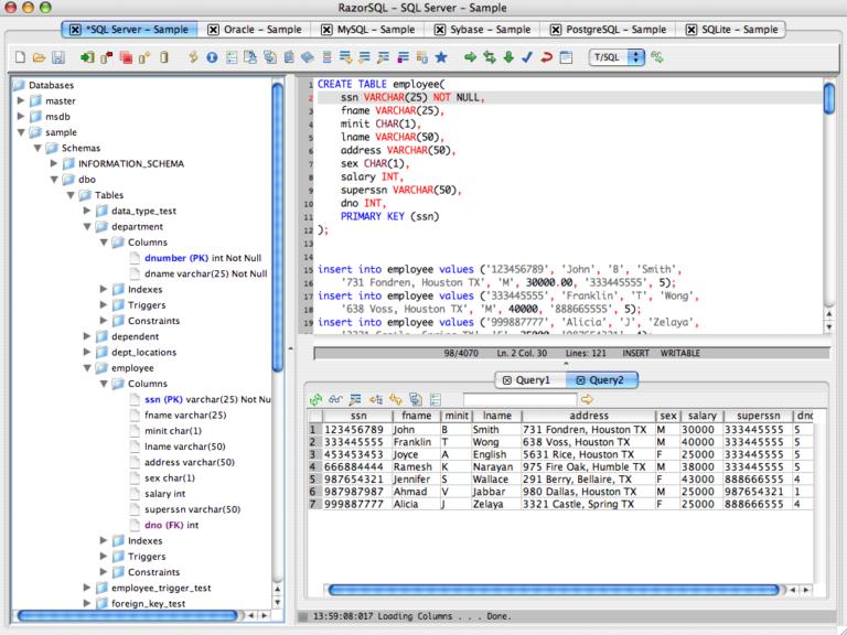 RazorSQL 9.0.4 Crack With Keygen Latest Full 2020