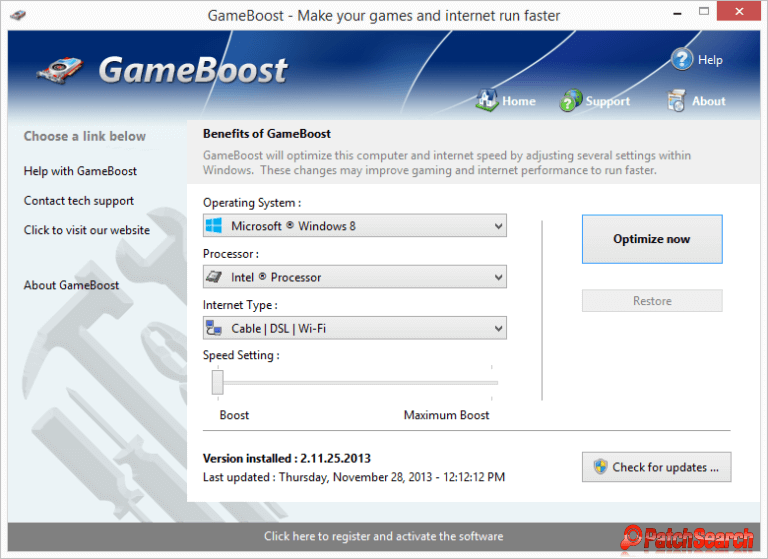 PGWare GameBoost 3.11.5.2020 With Crack