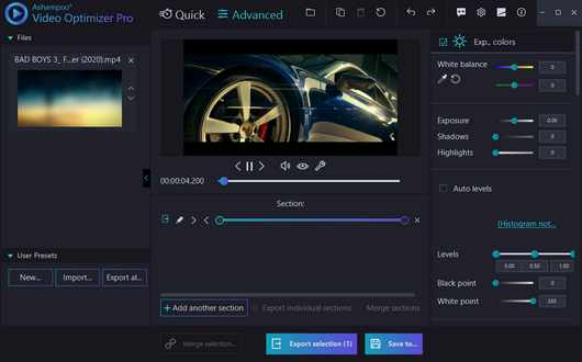 Ashampoo Video Optimizer Pro 2.0.1 With Crack {Latest}