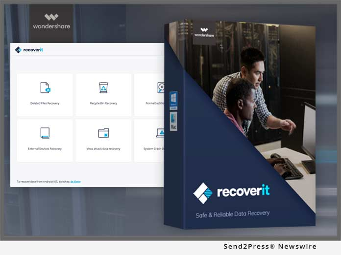 Wondershare Recoverit 9.0.6.20 Crack With Key 2021 Full Latest