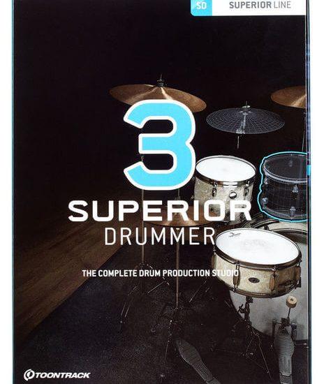Toontrack Superior Drummer 3.1.7 Crack