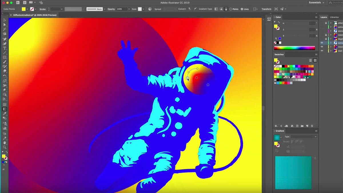 Adobe Illustrator Crack 2021 25.0.0.60 Key Free Download