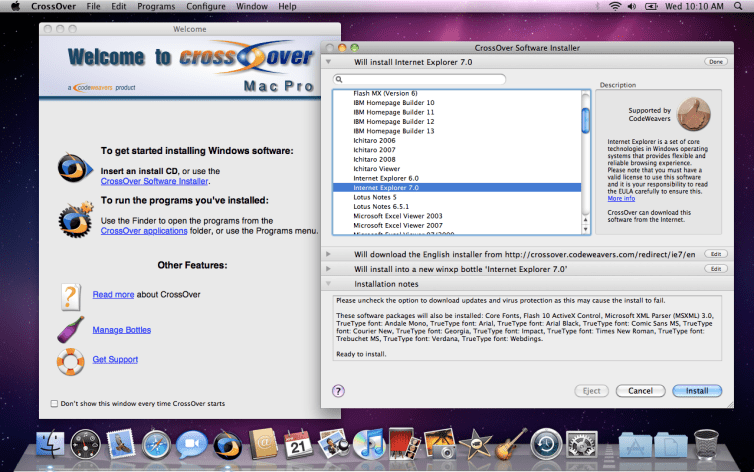 CrossOver Crack Mac 20.0.4 With Activation Key Latest Version 2021