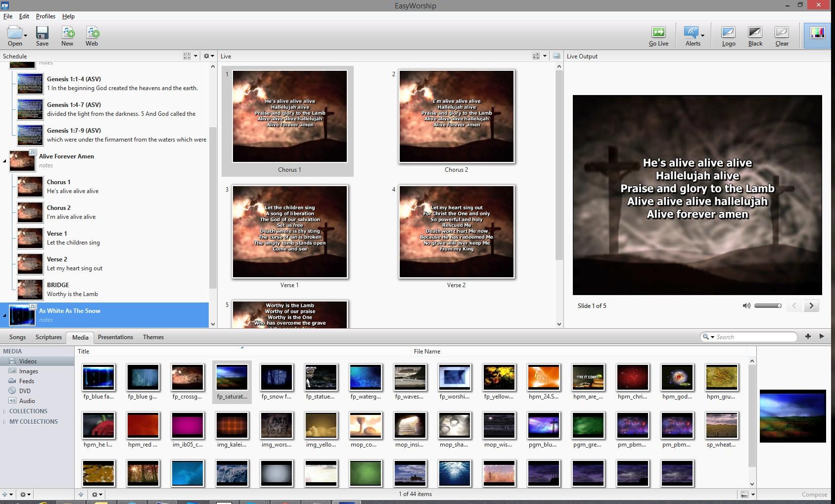 EasyWorship Crack 7.2.3.0 With Serial Keys Full Download 2021